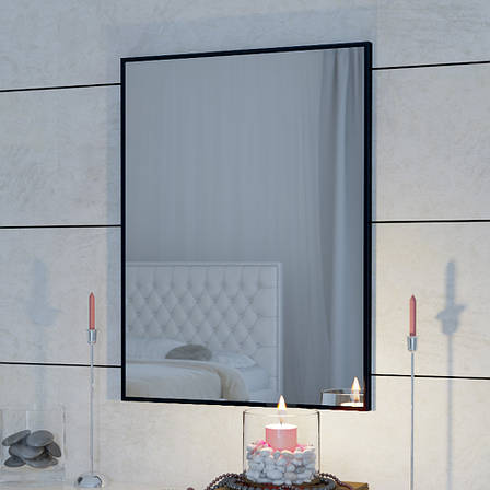 Зеркало Aluint Mira 105 Black, фото 2