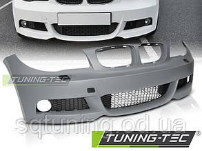 Бампер передній BMW E81/E82/87/E88 LCI 07-13 M-TECH