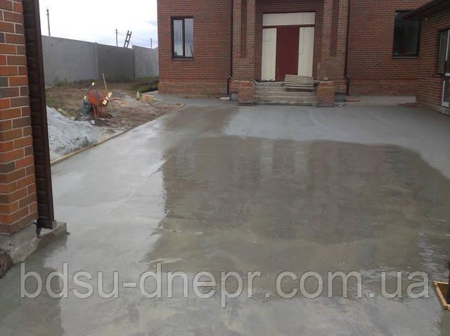 Устройство бетонных оснований