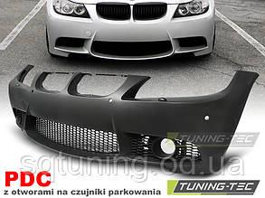 Бампер передній BMW E90 E91 09-11 M3 STYLE PDC