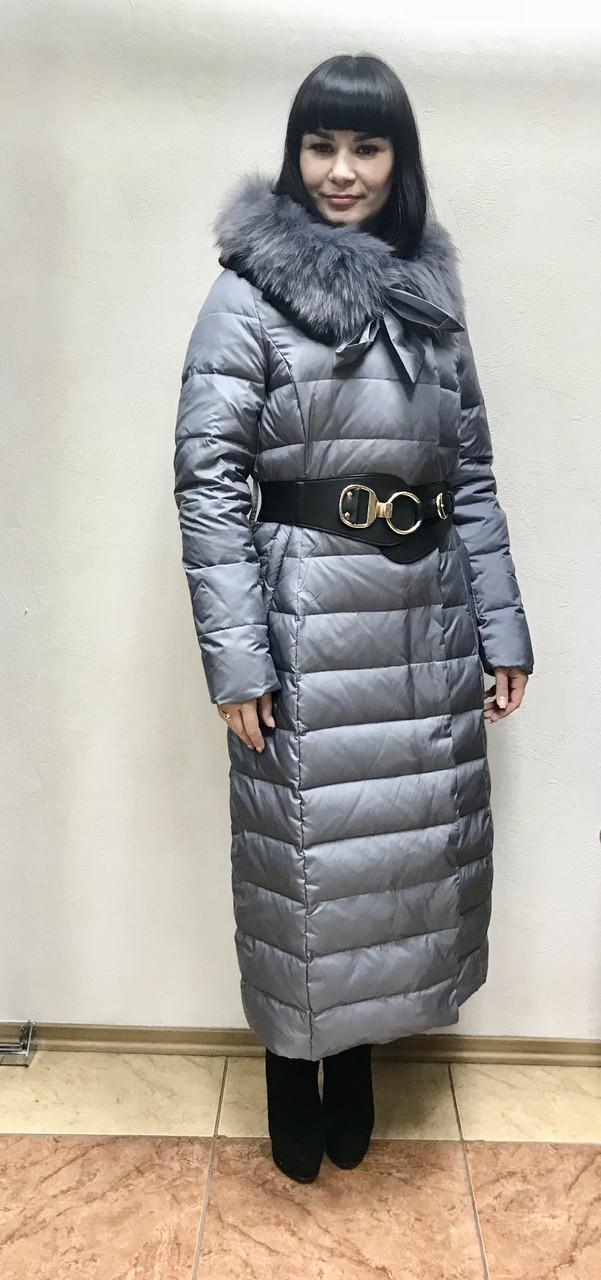 ef54249d4a2 Пуховик Cerruti длинное пальто с мехом на капюшоне  продажа