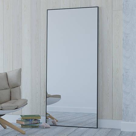 Зеркало Aluint Mira 112 Black, фото 2