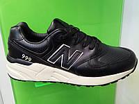 Мужские кроссовки New Balance 999 leather черные