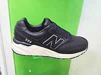 Мужские кроссовки New Balance 999 leather синие