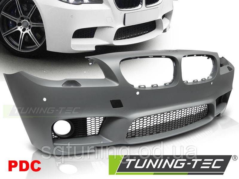 Бампер передний BMW F10 / F11 LCI 07.13-16 M5 STYLE PDC