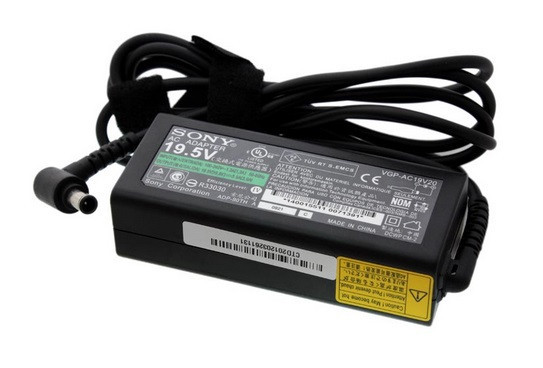 Блок питания для ноутбука Sony 19.5V, 2A 6.5мм*4.4мм