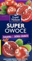Чай Lord Nelson Super Owoce гранат 20 пакетов