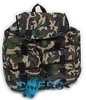 Рюкзак камуфляжный 48л (милитари) 2 кармана