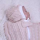 Кокон Weave для новорожденных (карамель), фото 2
