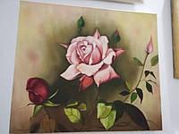 Картина авторская Роза масло