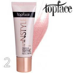 TopFace - Хайлайтер PT-459 жидкий Liquid Highlither 25ml Тон 02 розовый