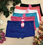 Хлопковые шортики, трусики женские, фото 2