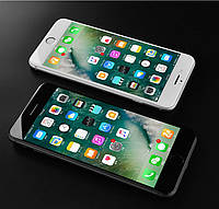 Защитное стекло 6D с рамкой для Apple iPhone 8