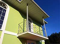 Ограждения балкона  из нержавеющей стали AISI 304