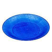 Миска склоподібна синя 10 шт Ю
