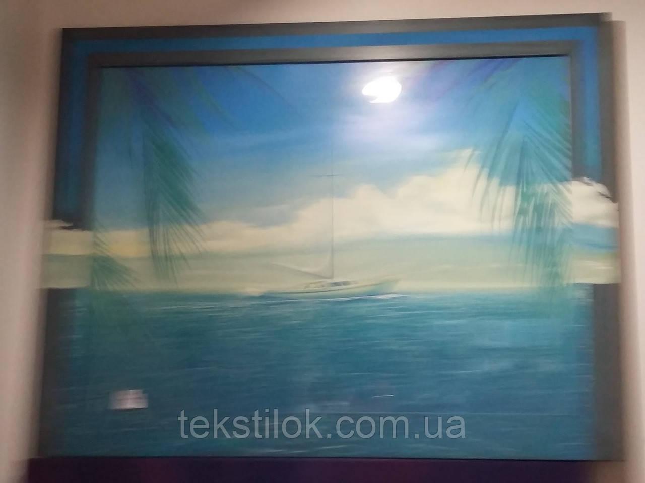 Картина репродукція Яхта 73*90 см