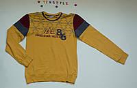 Жёлтый реглан на мальчика рост 158-164 см