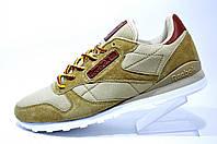 Мужские кроссовки Reebok Classic Leather, песочный