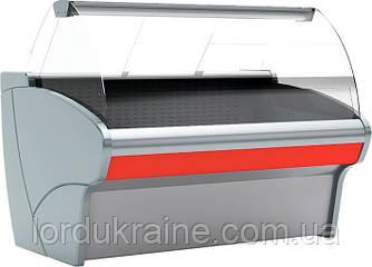 Холодильна вітрина Полюс ВГС-1,25 Сarboma