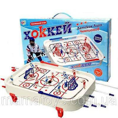 Настольный Хоккей 0700 на штангах Детская лига Игровое поле 50-32 см