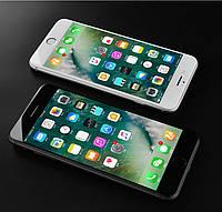 Захисне скло 6D з рамкою для Apple iPhone 7