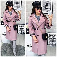Женское кашемировое пальто, весна 2018, разные цвета, фото 1