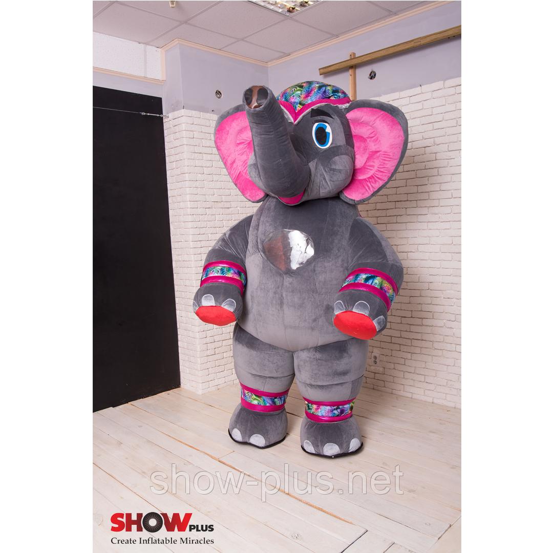 Пневмокостюм (надувной костюм гигант) New Слон