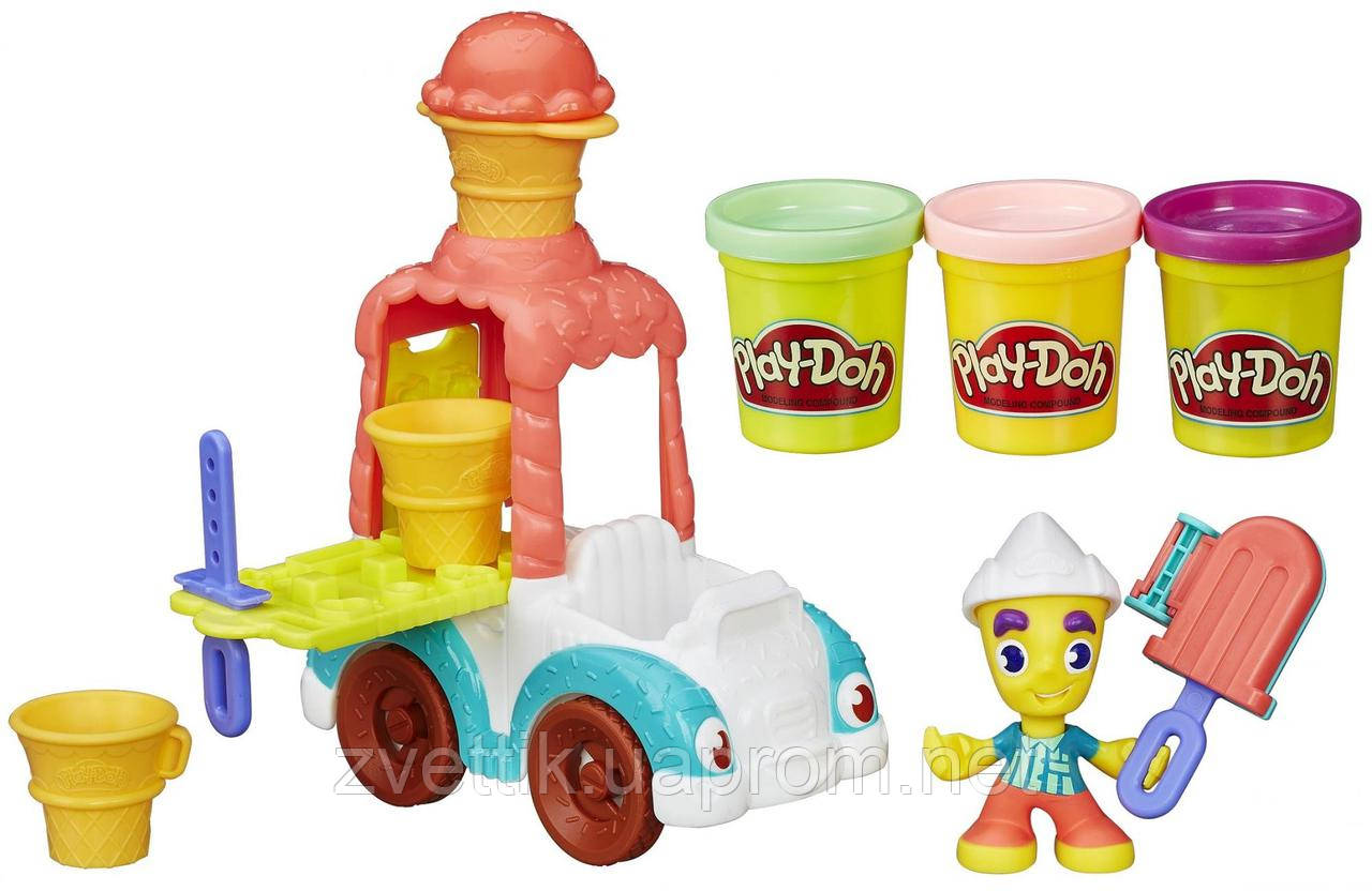 Набор пластилина Play-Doh Town Ice Cream Truck Грузовик с мороженным Плей до