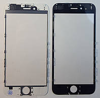 Рамка + оса + верхнее  стекло  дисплея  IPhone 6