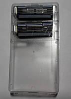 Сменные лезвия серии Gillette Mach3 2's (два картриджа в пластиковом держателе