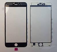 Рамка + оса + верхнее  стекло  дисплея  IPhone 6s+
