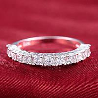 Кольцо покрытие серебро ювелирная бижутерия 74