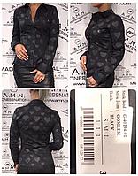 AMN рубашка чёрная