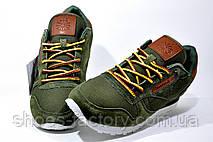 Кроссовки мужские в стиле Reebok Classic Leather, khaki, фото 3