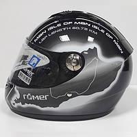 Мотошлем Roemer TT White (Распродажа)