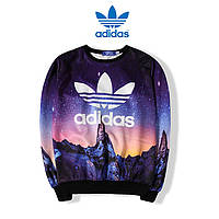 Свитшот женский Adidas разноцветный (ориг. бирки)