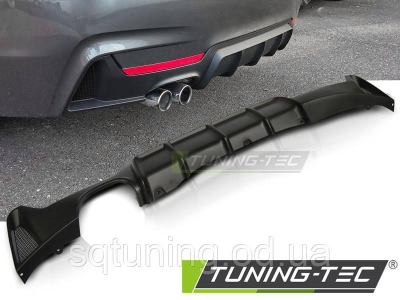 Бампер задний BMW F32 / F33 MP SINGLE OUTLET TWIN MUFFLE