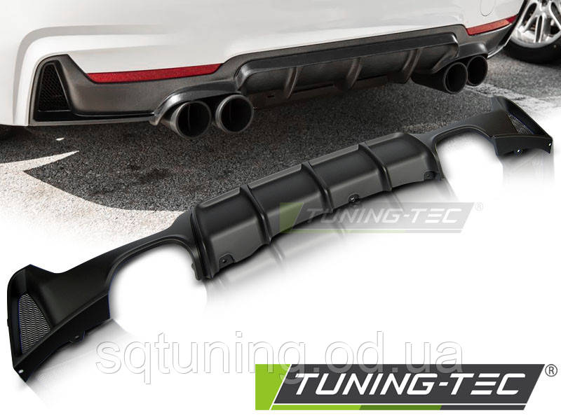 Бампер задний BMW F32 / F33 MP TWIN OUTLET TWIN MUFFLE