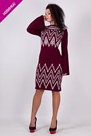 Весеннее платье вязка - Регина