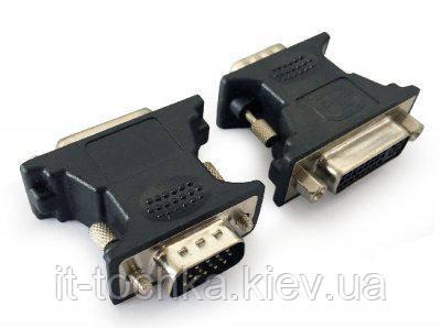 Адаптер cablexpert a-vgam-dvif-01 dvi-a 24-pin на vga 15-pin