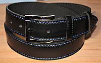 Ремень мужской кожаный 120х4см