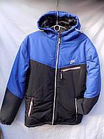 Куртка-ветровка мужская стеганая с капюшоном весна/осень оптом