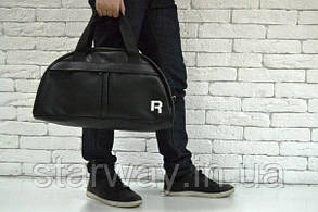 Кожаная сумка Reebok logo