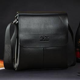 Мужская кожаная сумка Bandicoot. Модель 0428