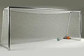 Сетка футбольная Dual #1 для футбольных ворот D-2,5 мм, яч.15 см