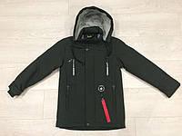 Подростковая курточка с наушниками на мальчика р.128-152