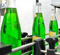 Линия розлива газированных напитков в стеклянную бутылку