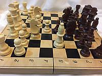 Шахматы деревянные 40 см  Украина с большими деревянными фигурами, фото 1