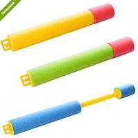 Водяной насос M 3048 38см, диам.4см, крутится, 4-38-4см, водное оружие, игрушка для воды