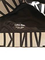 Женский комплект Calvin Klein intense power плавки  слипы и топ с чашкой реплика, фото 2